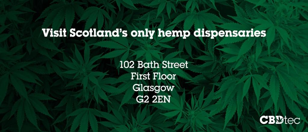scotland cbd hemp dispensary bath street glasgow
