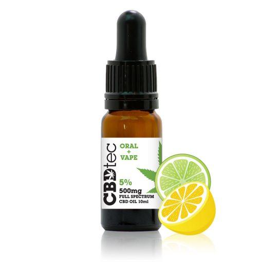 cbd citrus vape oil 10ml 5%