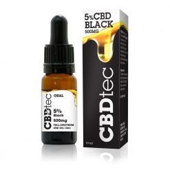 cbd oil 5% black