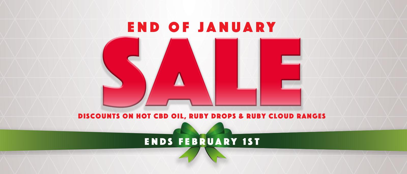 end of january sale cbd vape oil and drops glasgow