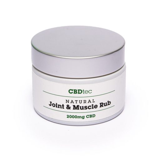 cbd joint and muscle rub glasgow