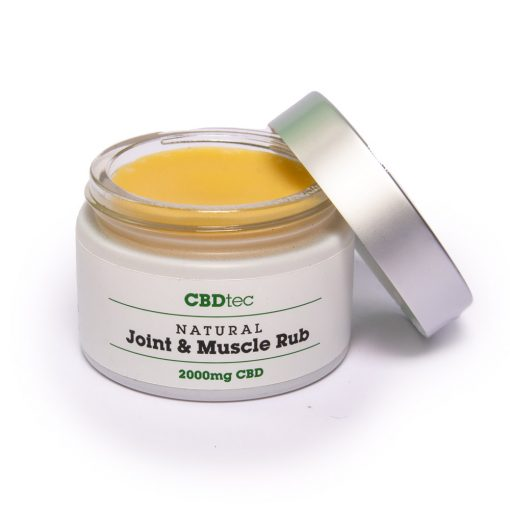 open cbd joint and muscle rub glasgow