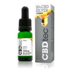 10% silver cbd drops